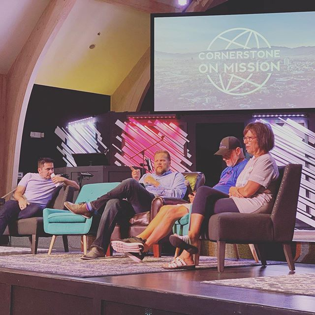 TOMORROW we're wrapping up our #CornerstoneOnMission: Celebration Weekend with a Q & A session with our Mission Partners! 🇨🇷 🇿🇦 🇪🇨 🇭🇹 ——— Don't miss it, #CornerstoneBluffton Fam!  8:30AM // 10AM // 11:30AM