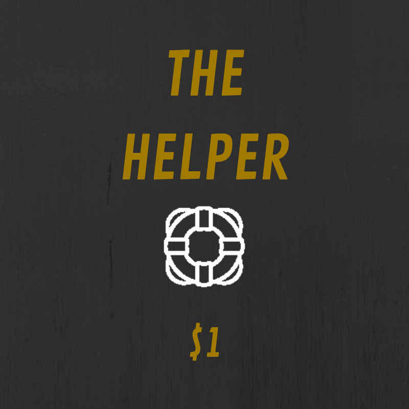 The Helper tier comes with some kick ass benefits. You get access to annotated scripts and bonus content such as Q&As and episode discussions.