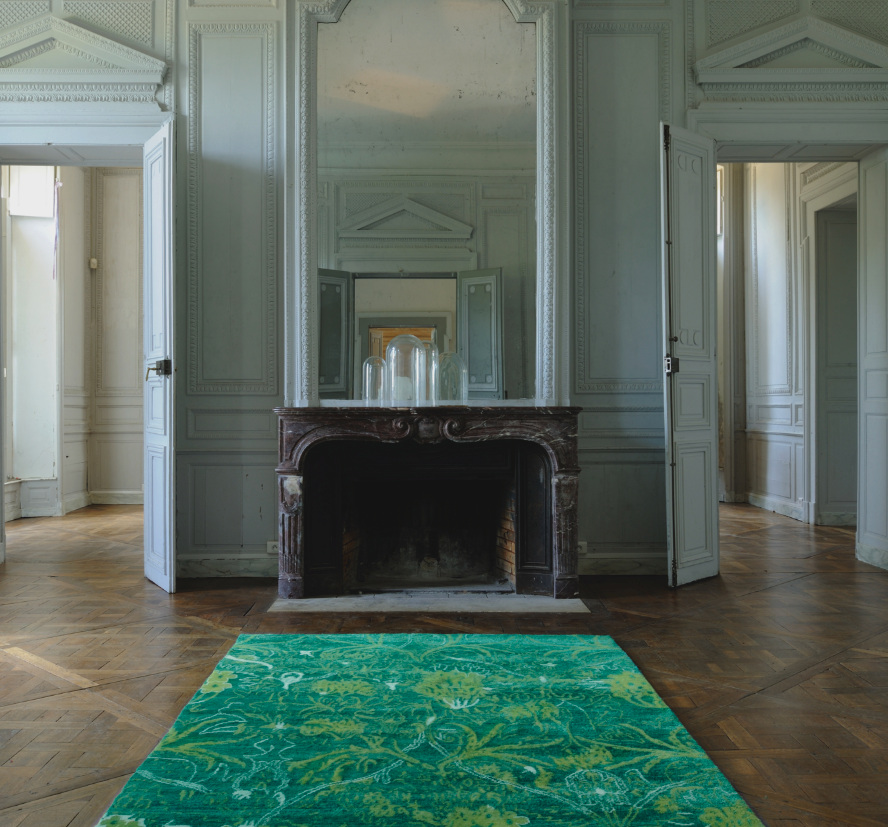 Rugs Collections for Toulemonde Bochart - For the French brand, Florence Bourel has been creating colorful and trendy rugs collections for several years.