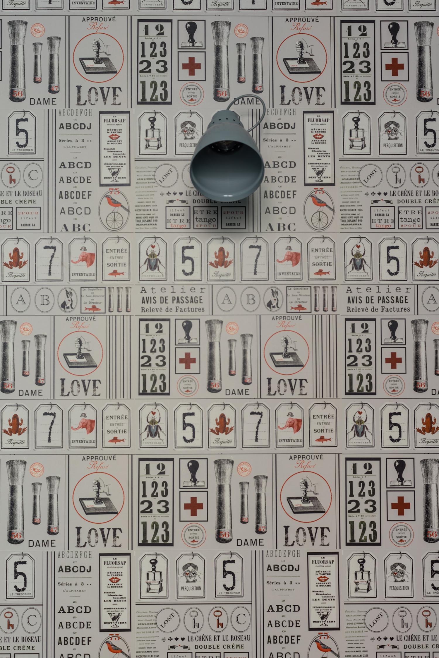 Papier Peint Style Atelier papier peint atelier — maison caumont