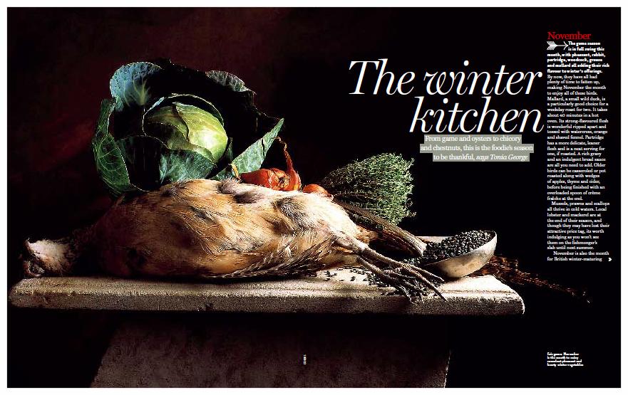 The Winter Kitchen, Nat West Magazine