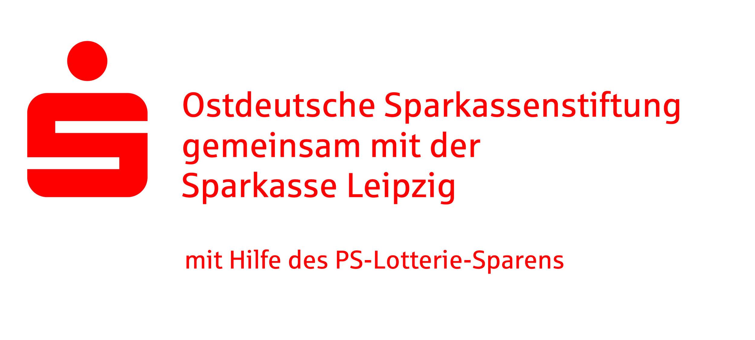 Wir danken der Ostdeutschen Sparkassenstiftung und der Sparkasse Leipzig für die finanzielle Unterstützung dieses Projekts.