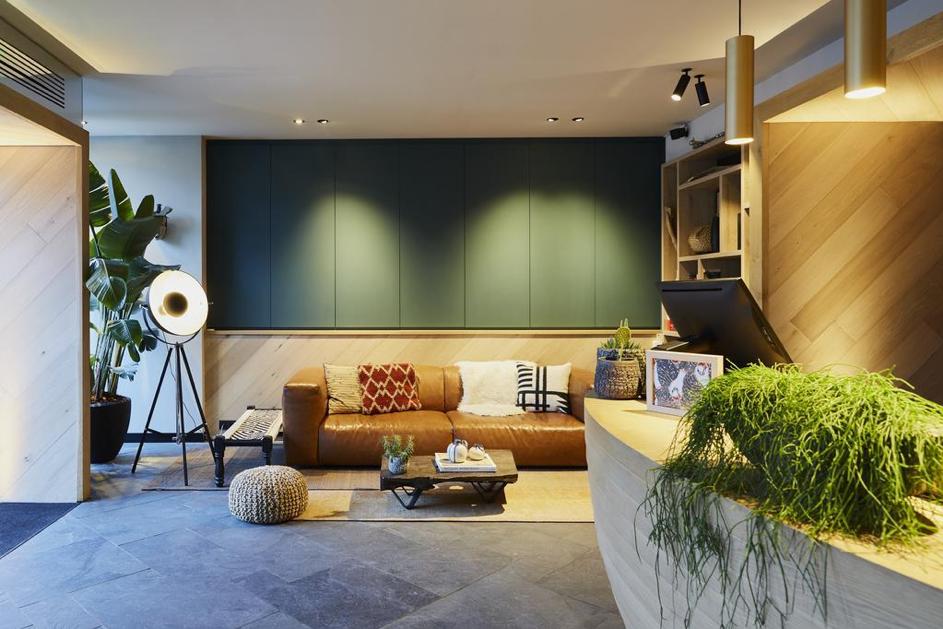 Hotel Indigo Antwerp – Lobby