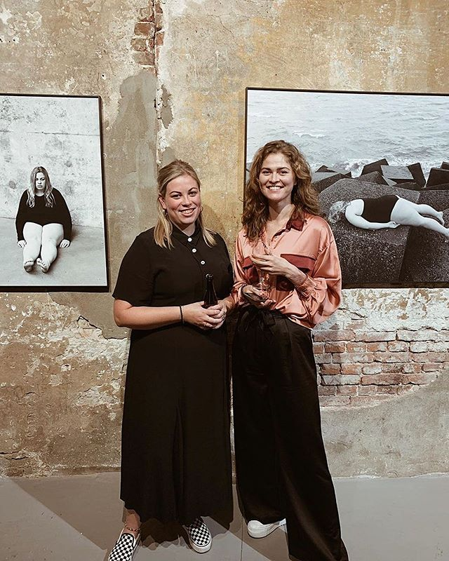 Two wonderful artists @yaellaroes & @laurahospes at Marktsteeg10. Come and see their work: Open Thursday till Saturday 11:00 till 17:00 ... expo The Self ✔️