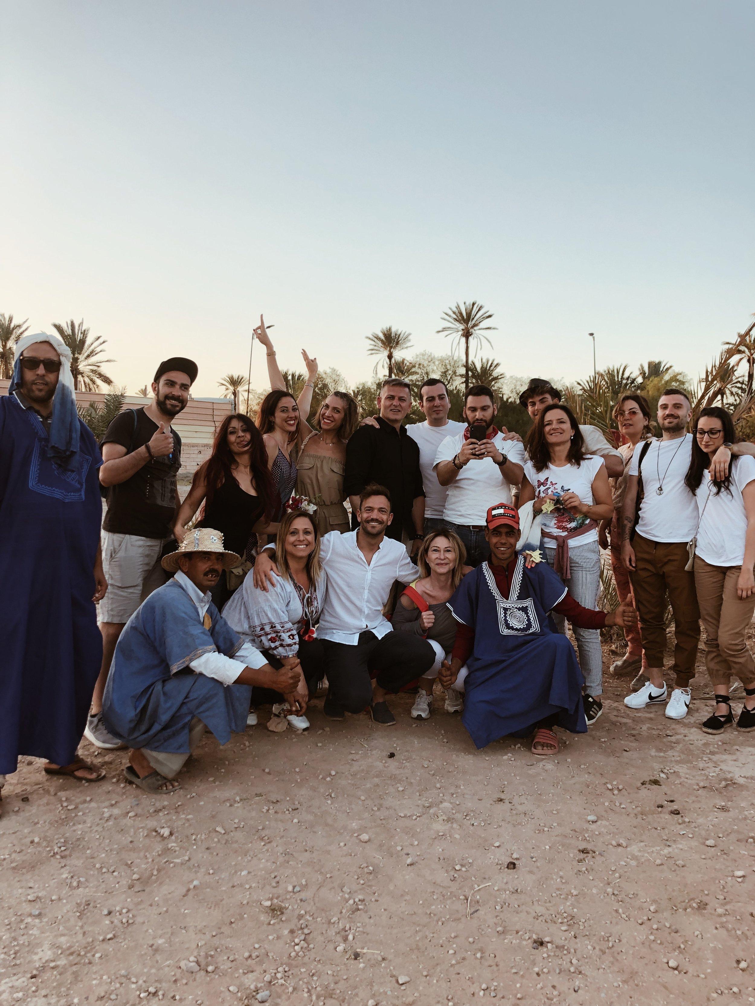Viaggio di gruppo - Marrakech