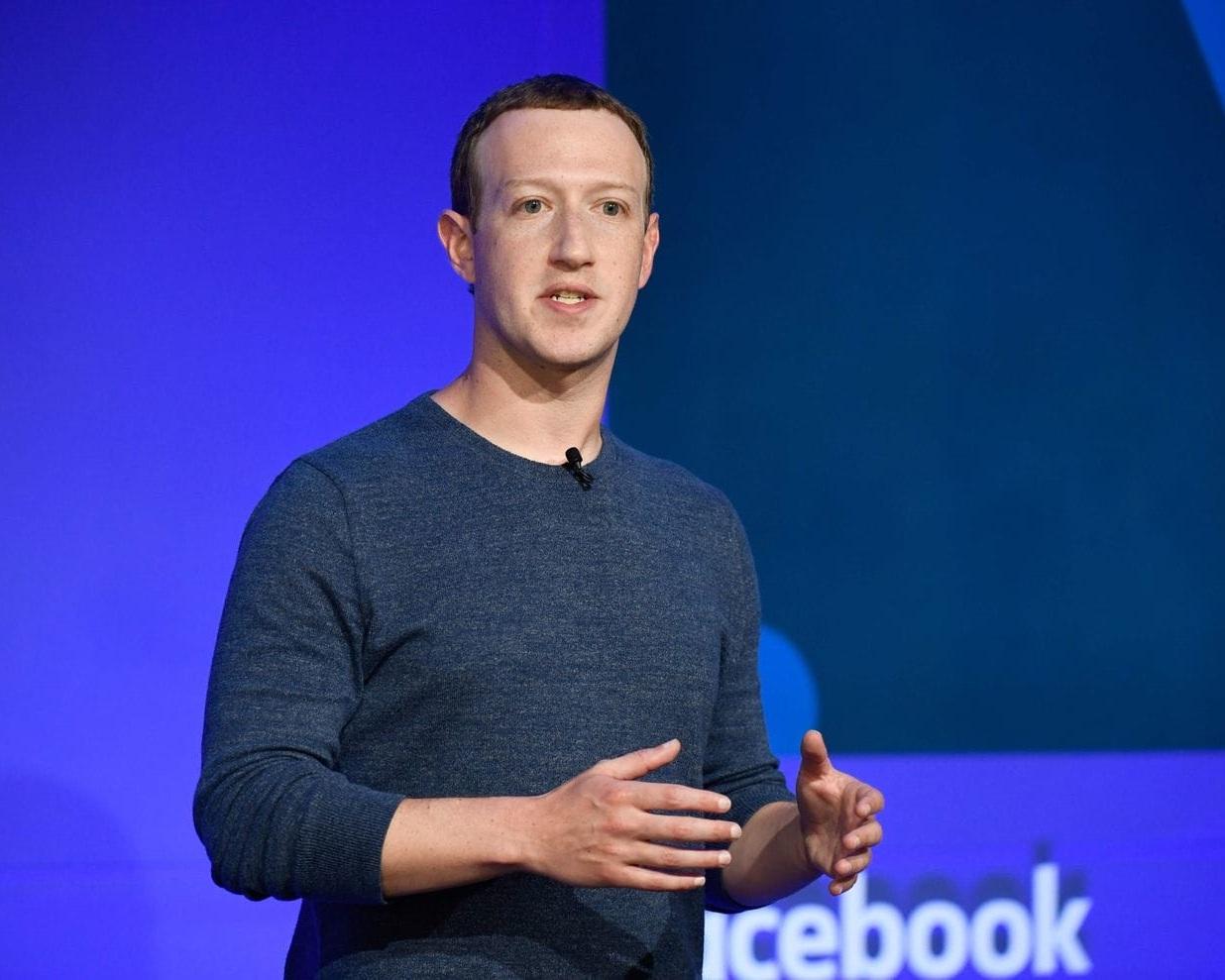 Facebook encourt une amende de plusieurs milliards de dollars par la FTC américaine. Mark Zuckerberg ©Bertrand Guay AFP/Getty Images