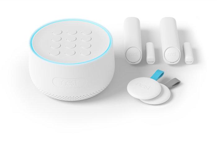 Les caméras de sécurité Nest intègraient un micro caché, qui peut désormais basculer en assistant Google. ©Nest Labs