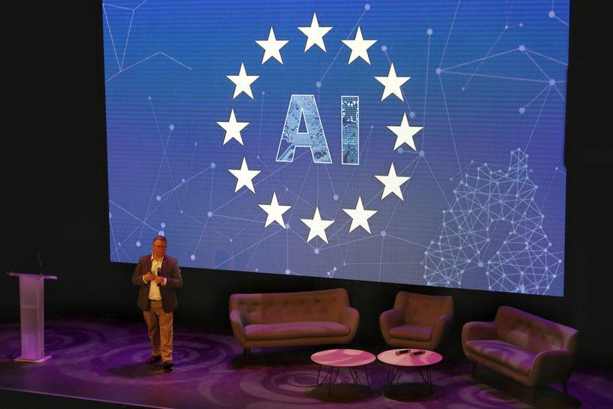 Barry O Sullivan, professeur à l'Université irlandaise College Cork et vice-président du groupe d'experts sur l'IA éthique mandaté par la Commission européenne. © Juan Fajardo / France Digitale