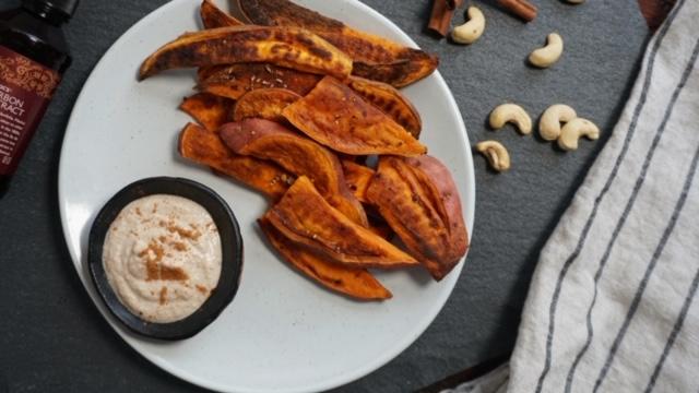 Sweet Fries w/ Cinnamon Dip