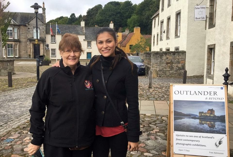 My mom and I in Scotland
