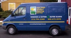 We offer residential and commercial window and gutter cleaning services.