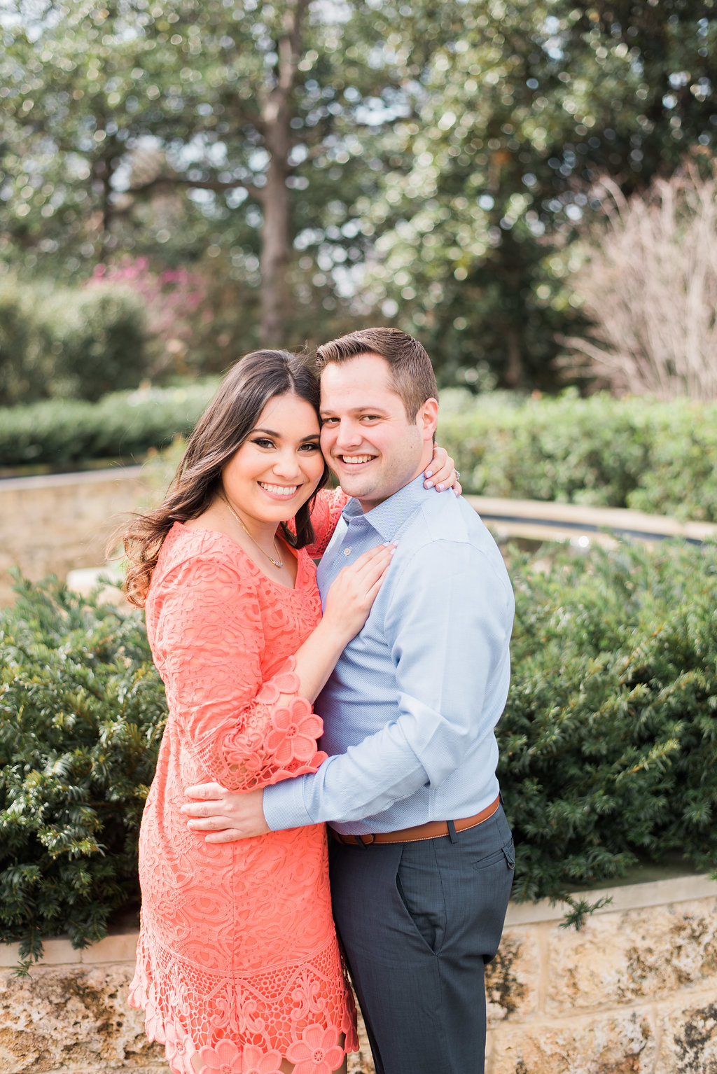 Early Spring Engagement at The Dallas Arboretum | Gray Door Photography