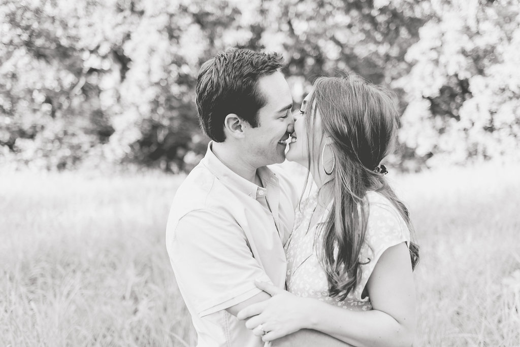 Sunny Dallas Engagement at White Rock Lake | Gray Door Photography