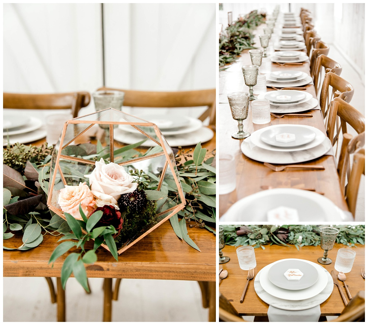 Copper + Violet Hued Wedding at The White Sparrow Barn | Gray Door Photography