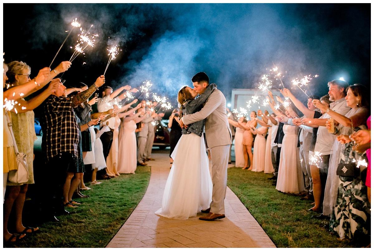 Morgan + Saul // White Sparrow Barn Wedding with A Surprise Send Off