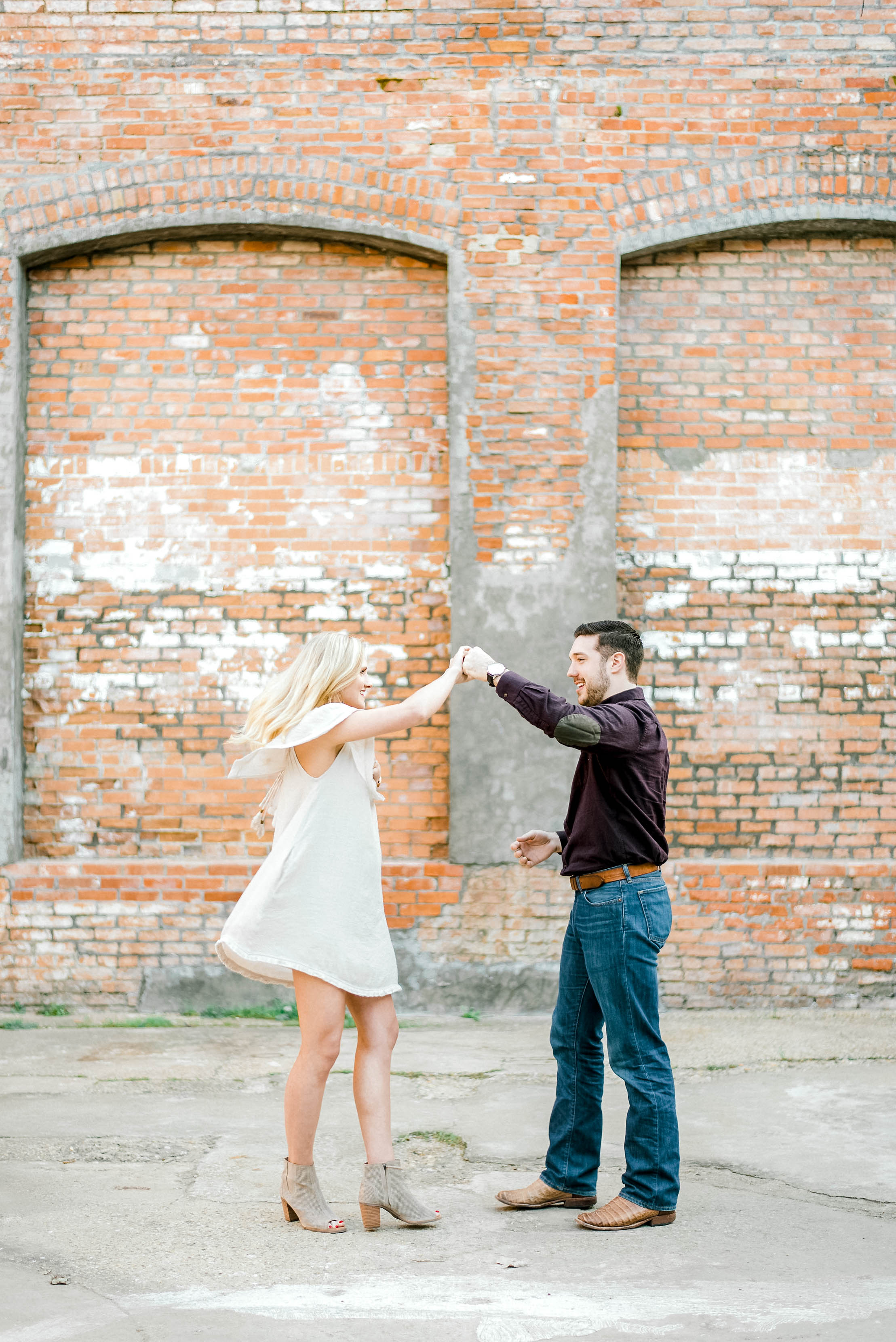 Rustic Engagement at The Cotton Mill - McKinney, Texas | Gray Door Photography26.jpg