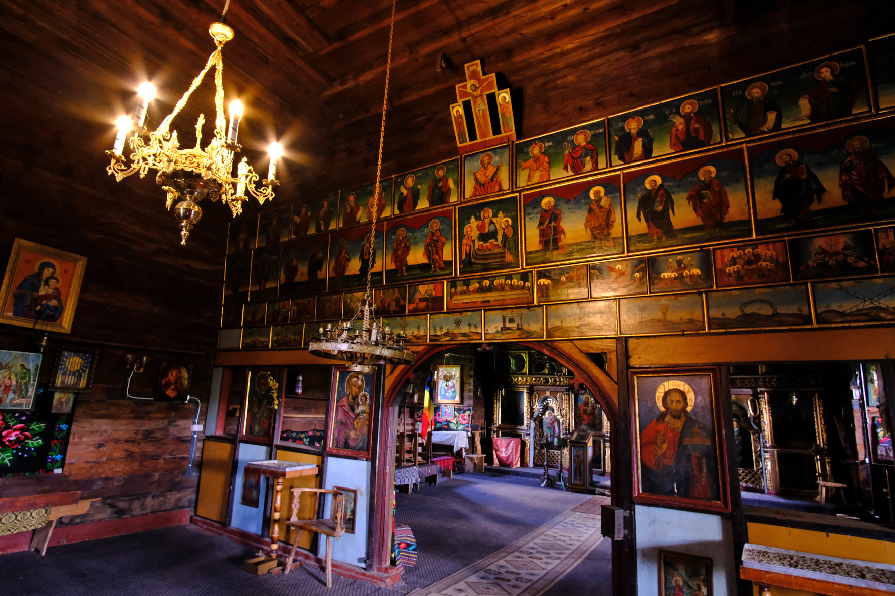 "Some of Ian's latest images here, exploring the old wooden churches in Bucovina, Romania. Ian says, ""whether these pictures will form the basis for another book remains to be seen."""