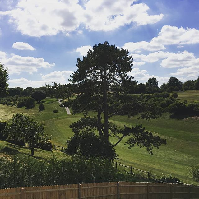 View from the terrace of a soon to be three bedroom apartment on Chilbolton Avenue. #winchesterlife #propertydevelopment #property