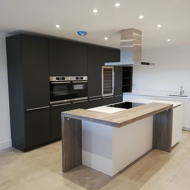 Apartment kitchens going in up at Stratton House, Stratton Road, Winchester #winchesterlife