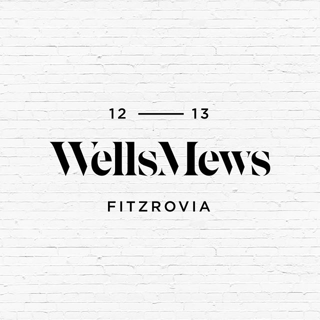 12-13 Wells Mews provides an exciting, redeveloped commercial offering in the heart of Fitzrovia.  #185 #Design #Graphicdesign #Branding #Identity #Layout #Print #Brochure #Brochuredesign #Property #London #OfficeSpace #Workspace #PropertyDesign #Logo #Creative
