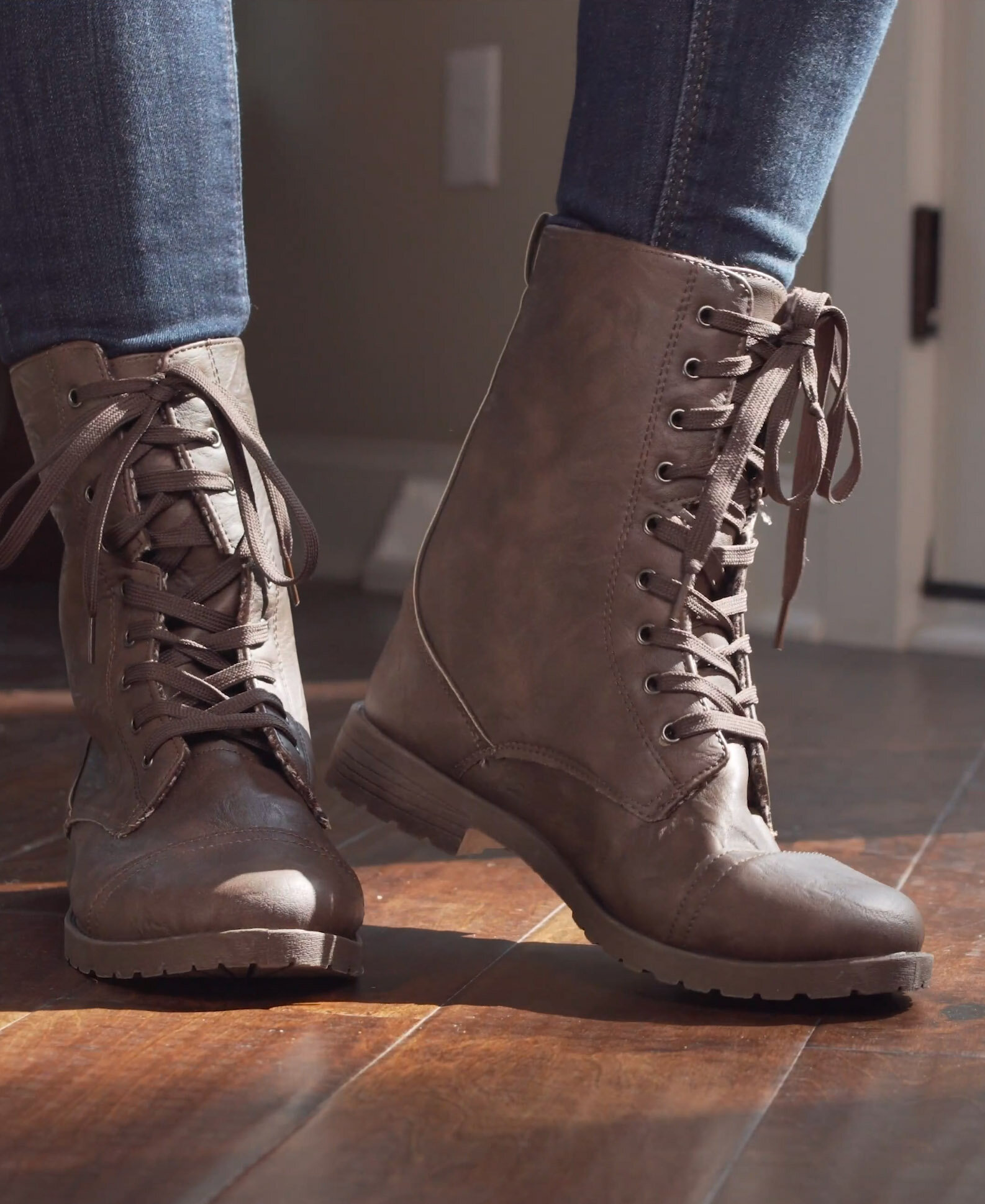 - 90s Knock Out: Combat BootsStarting @ $11.99