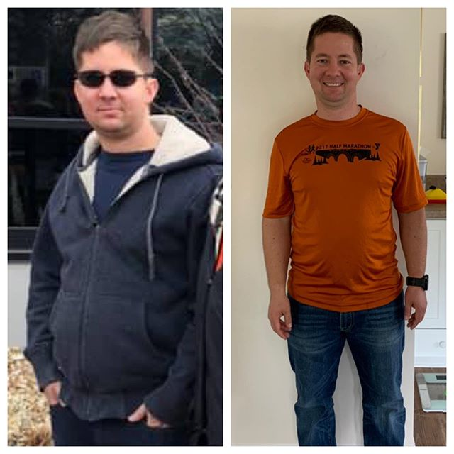 December 2018 - Present. . This guy is getting married in just under a month and has been showing up CONSISTENTLY to training 3x per week since the beginning of 2019. . He's a business owner, has lots of networking events, business meetings, strategy planning, managing... he wanted more energy but he's gained a lot more than that! . His posture is better, mood, his strength and movement is 💣 and while we don't work specifically with nutrition, we discuss simple solutions to apply to his daily habits such as protein, water, sleep and movement throughout the day. . You don't have to turn your whole life upside down to create change. It's showing up day to day that makes the difference! He legit never misses a session and it's been great to see him grow in so many ways 💪🏼