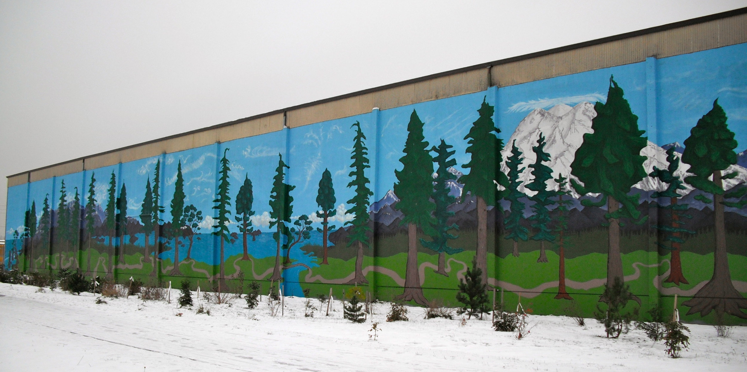 Woodland Trail Community Mural Project