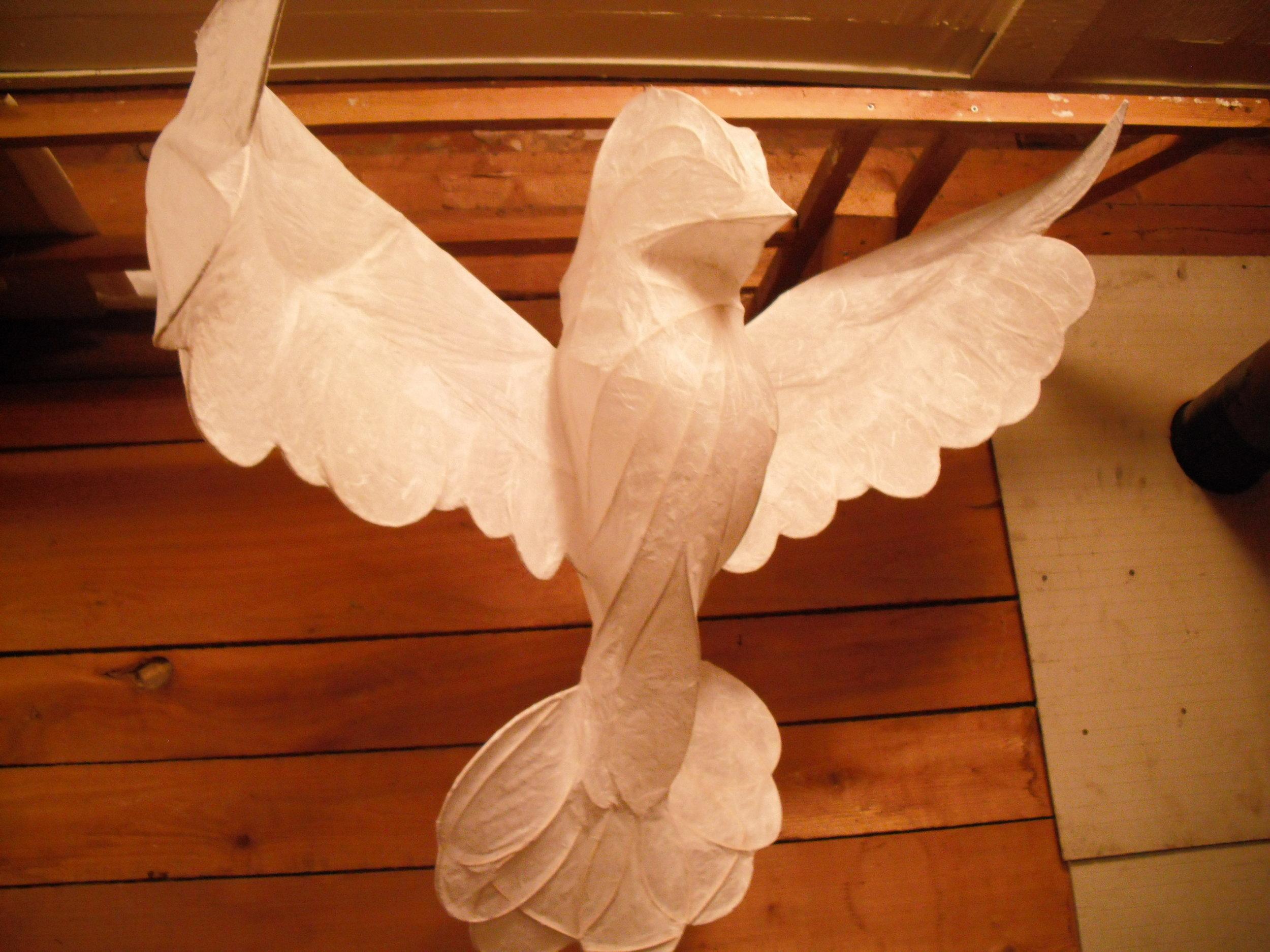 Peace Dove #1--in progress