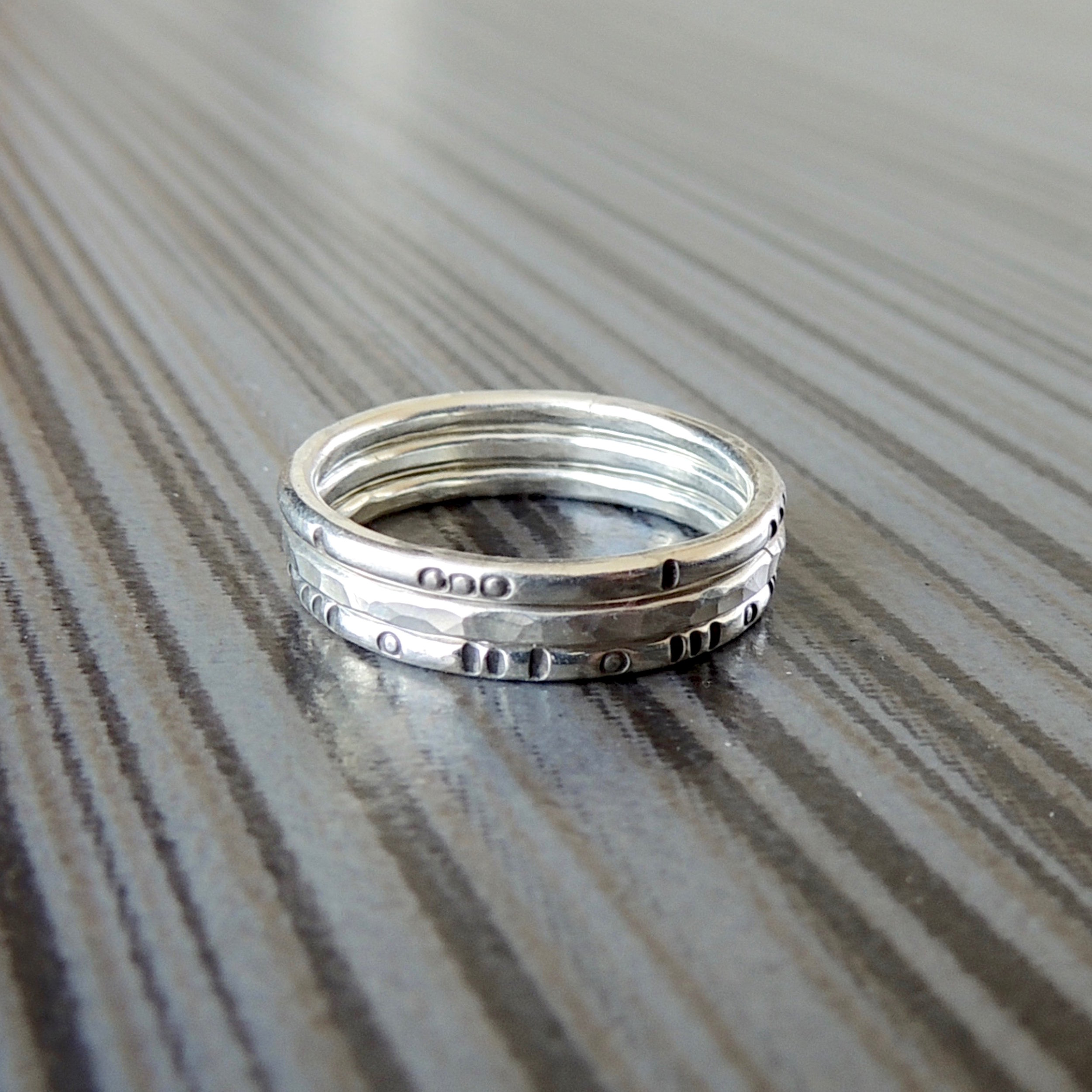 asheville-jewelry-workshop-rings-silver-stacking-ignite-studios