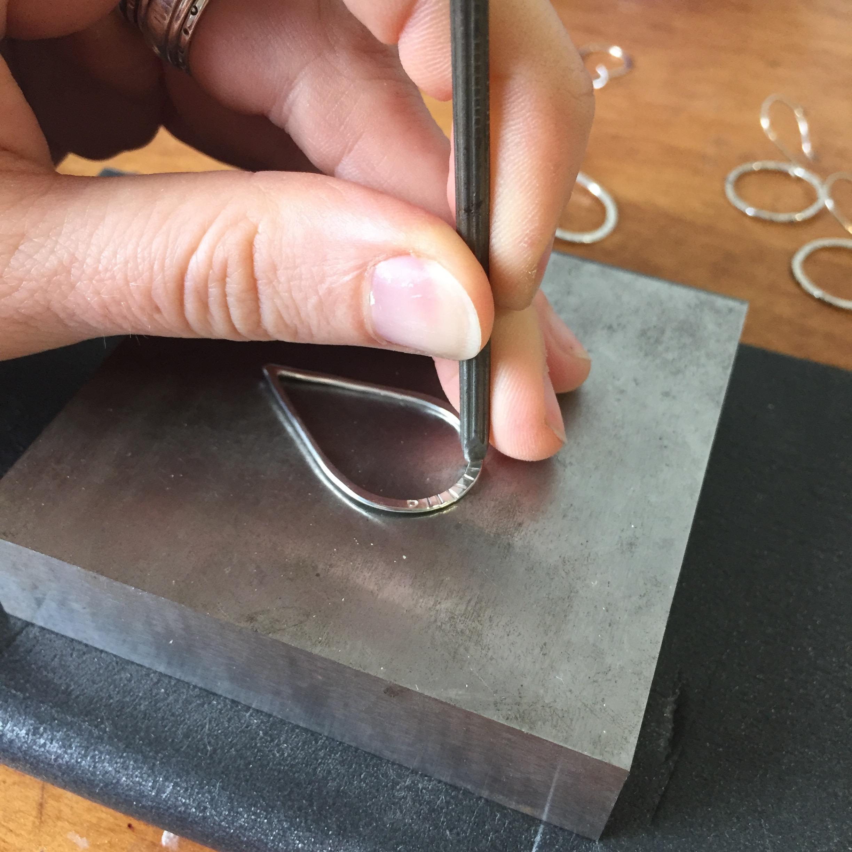 asheville-jewelry-workshop-class-earrings-silver-nora-julia-ignite
