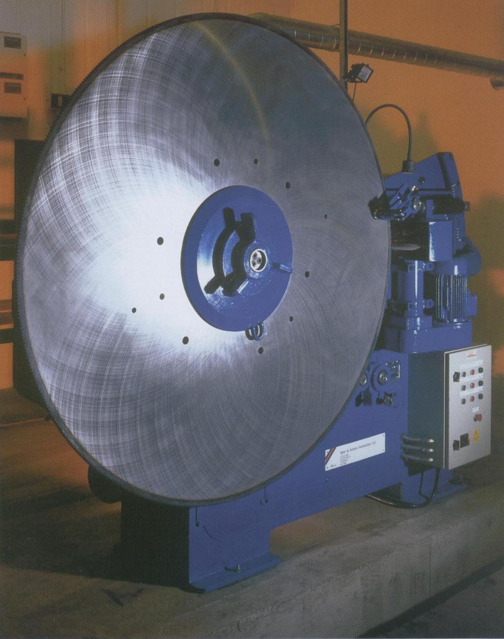 POWERGRINDER saw blade repair machinery