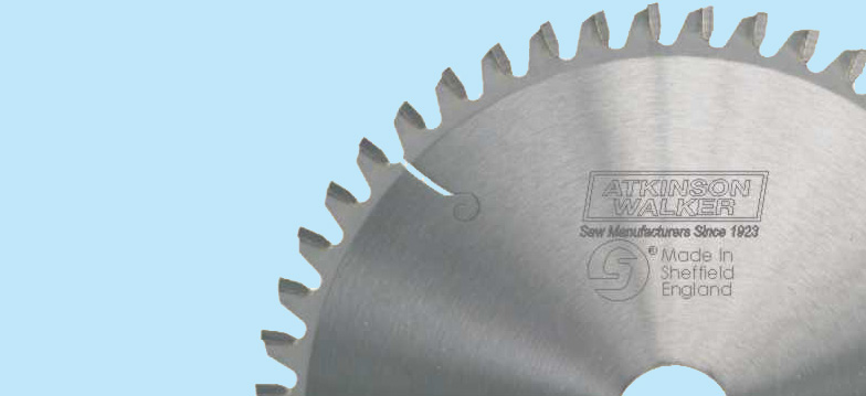 MITRE SAW / CHOP SAW BLADES FOR CROSSCUTTING - These crosscut blades have negative hook angles which make them suitable for hand-fed sawing machines, crosscut saws, chop saws, mitre saws and radial arm saws. The negative hook angle gives better control on the sawing machine when crosscutting solid timber, laminated boards, plywood and all types of panels and boards. Triple chip blades (referenced by TC) achieve a finer finish.