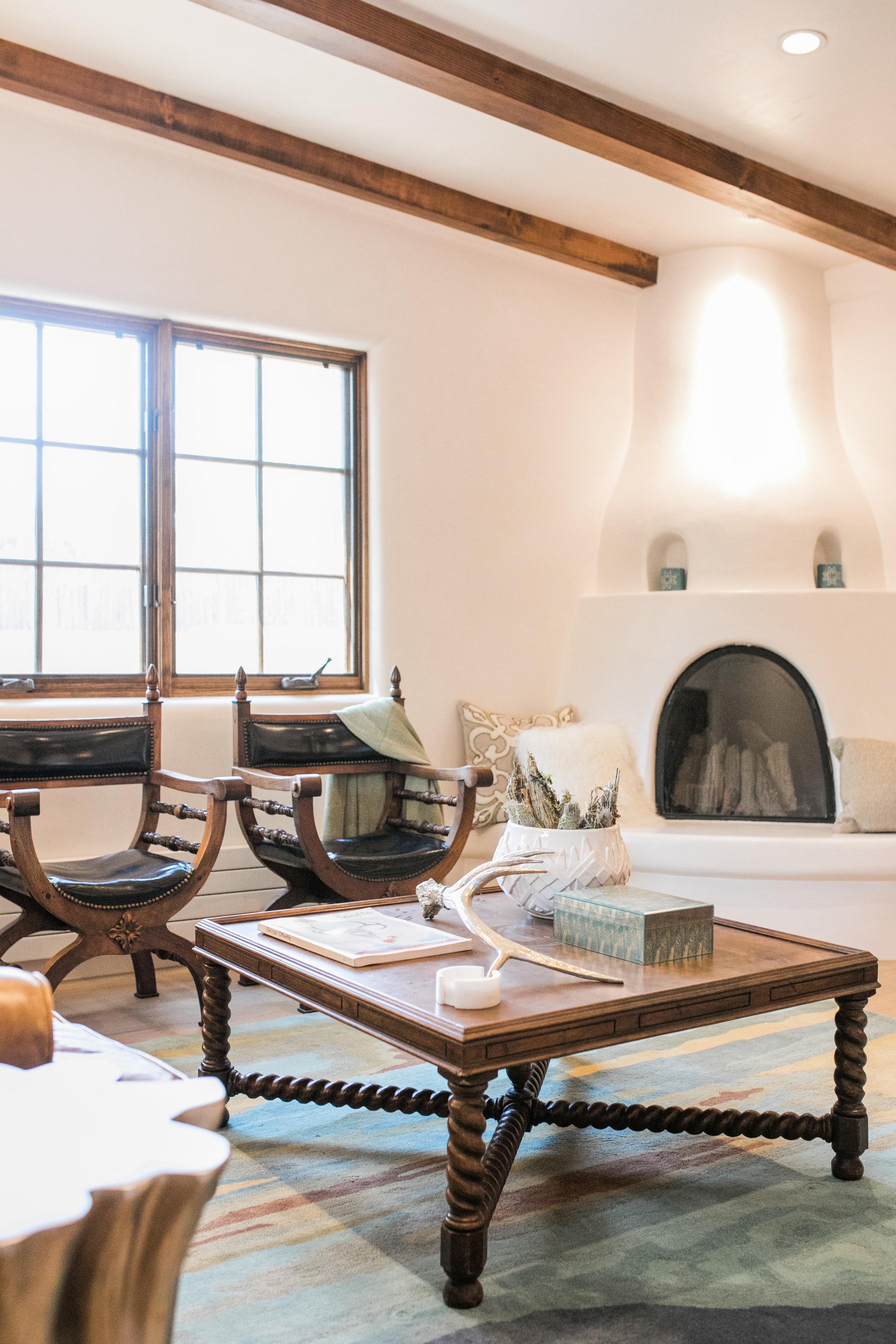 Taos Keva Fireplace Interiors