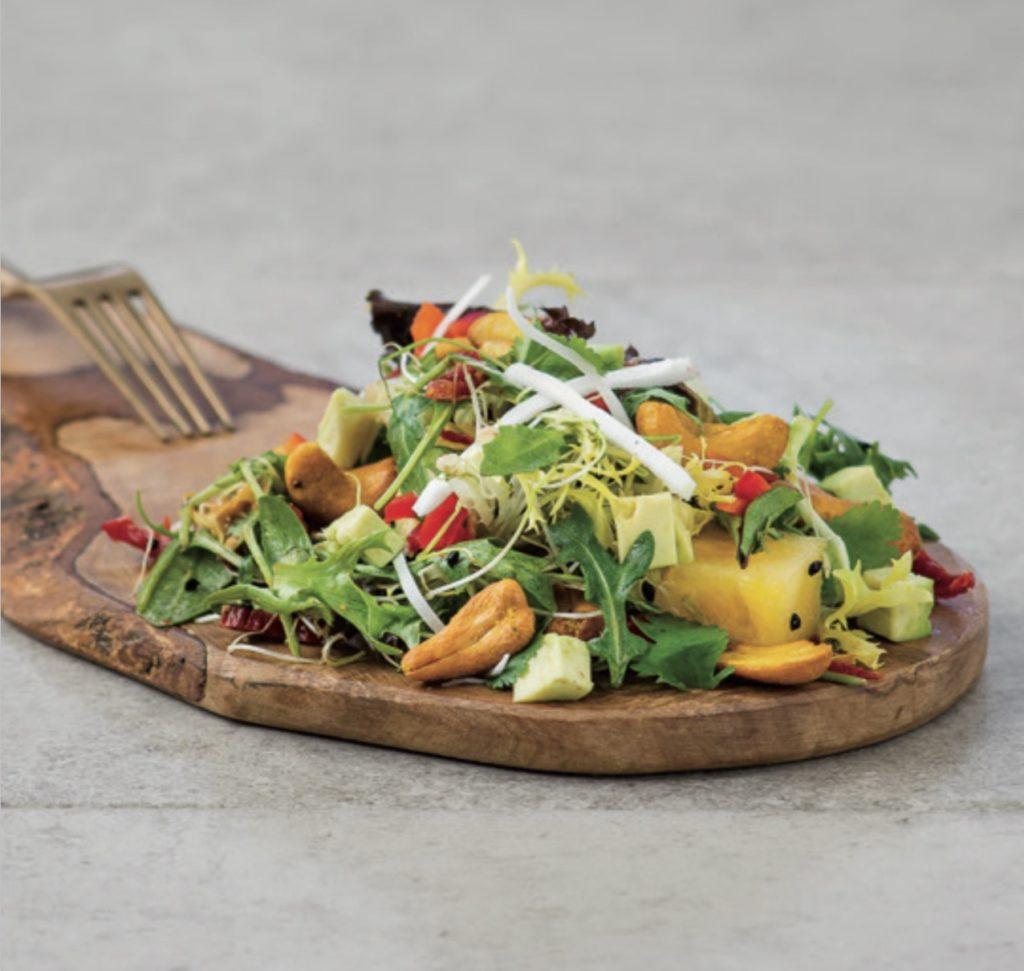 thai salad, matthew kenney, vegan