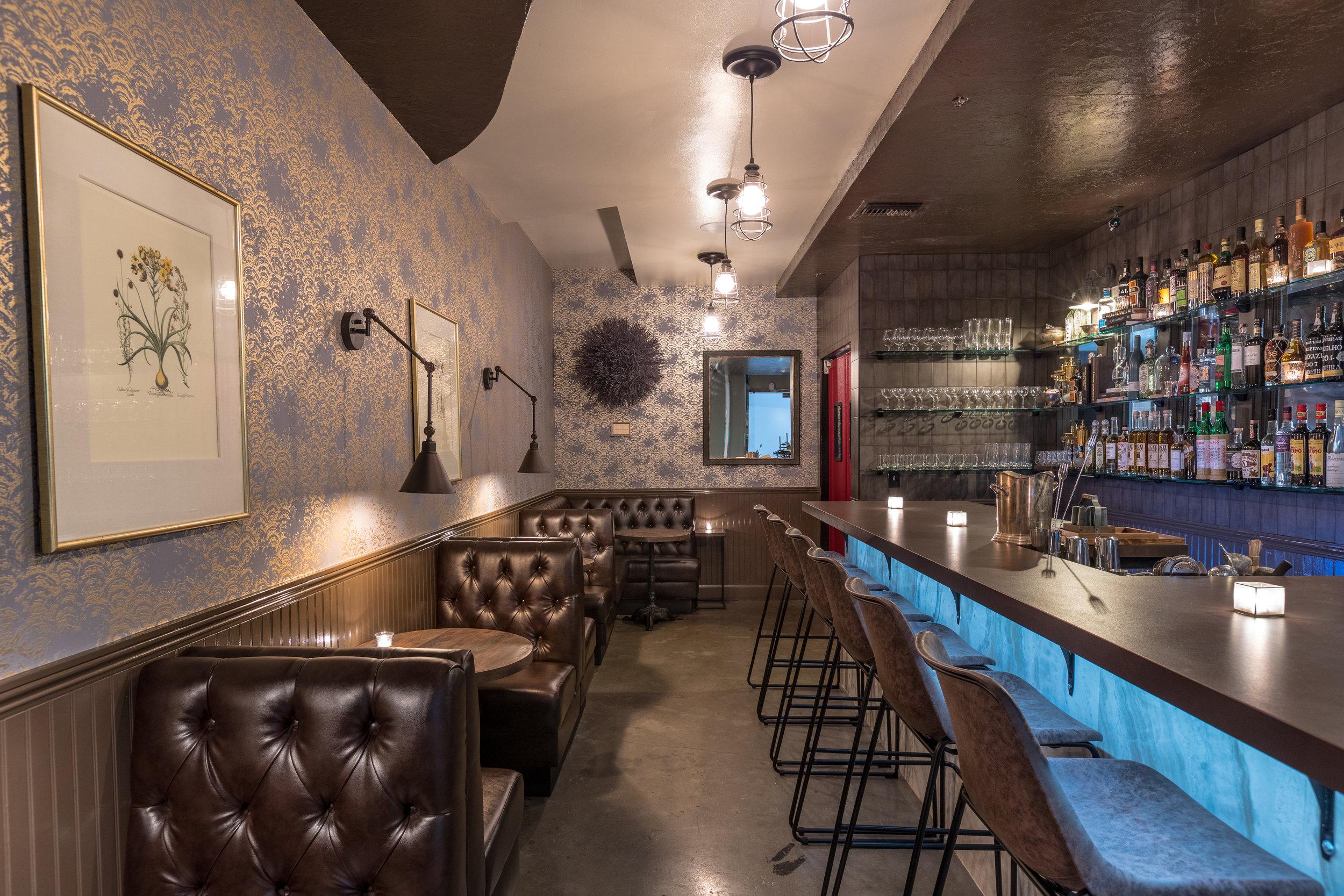 scratch bar and kitchen interior