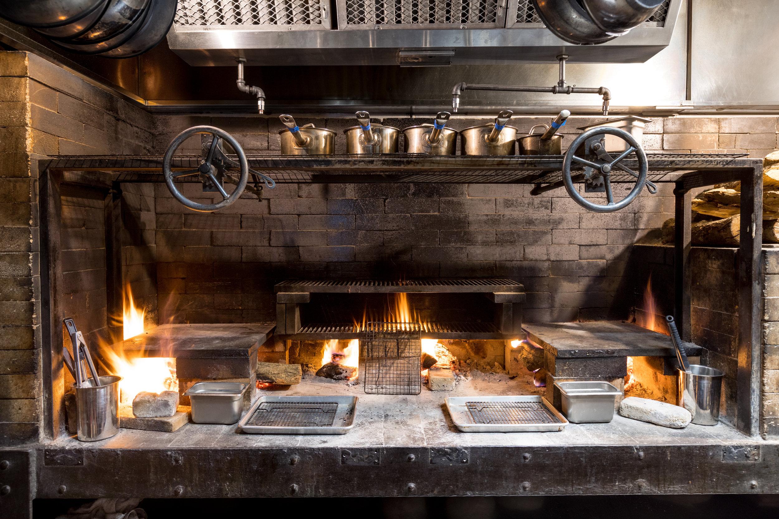 Scratch kitchen stove