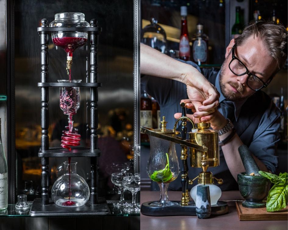 cocktail, bartender