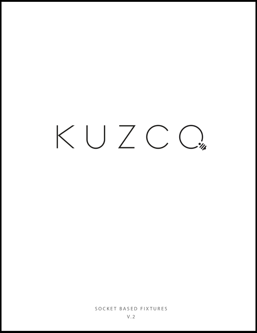 Kuzco Incandescent Main V.2 - Finding that there is still a need for incandescent fixtures in the design community, Kuzco has released a catalogue of socket-based only fixtures to complement their LED only catalogue.