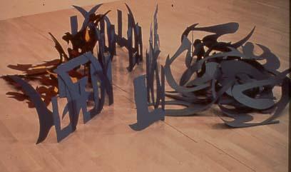 2009Austin Museum of ArtAustin,Texas - Boundries, 1978Polychromed aluminumMulti-dimentional / Sectional Floor Piece