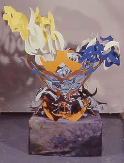 2004The Marion Koogler McNay Art MuseumSan Antonio, Texas - Orange Around, 1978Painted aluminum53 x 68 x 55 inches