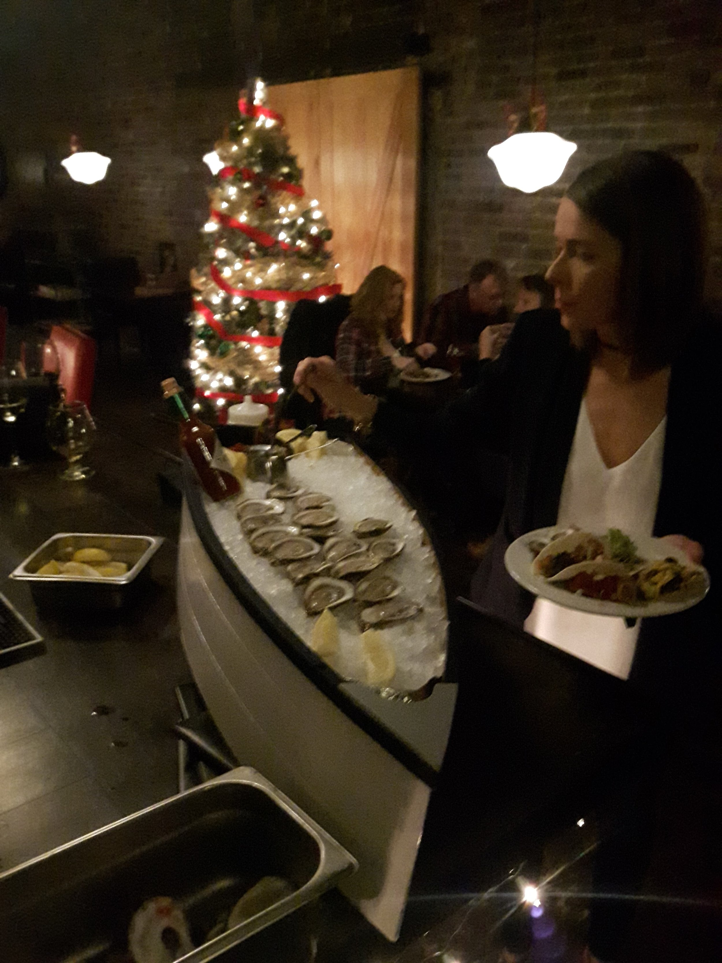 Let's get shucking - We work with you to tailor our oyster bar to your specific needsLarge wedding party? We've got your bivalve lovers coveredLooking to add some freshness to the upcoming office party? How about an oyster and wine or scotch pairing.