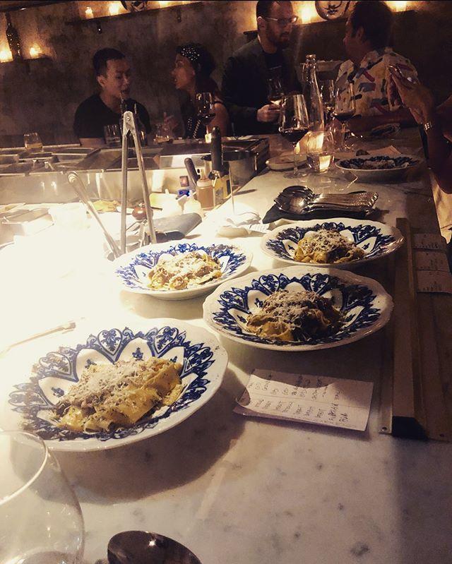 Order up! 🛎  A throwback to our event with #sohohouse.  Book your exclusive party with us via our website 🎉 . . #pastabarsg #eatpasta #lovepasta #tortelli #pumpkin #sage #fresh #handmade #handmadepasta #🍝#homemadepasta #handcutpasta #bestpastasg #chef #cheflife #kitchen #newrestaurant #instasg #sg #singapore #sgeats #eatsingapore #keongsaik #central #chinatown #bts #sage #stuffedpasta #yum #pastaislife