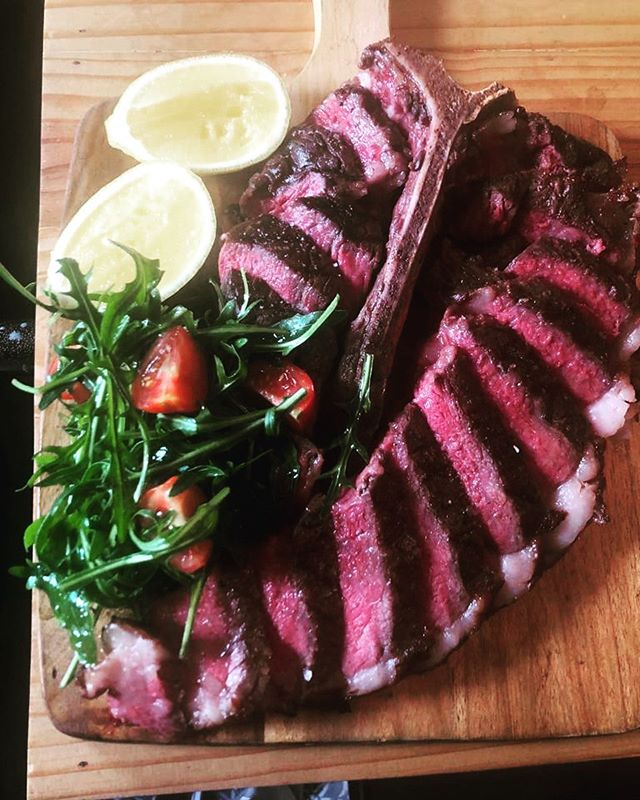 New on the menu 🥩 1.2kg T-Bone Bistecca Florentine.  We think you're really going to love this 🤩. . . . . #pastabarsg #bistecca #tbone #sgeats