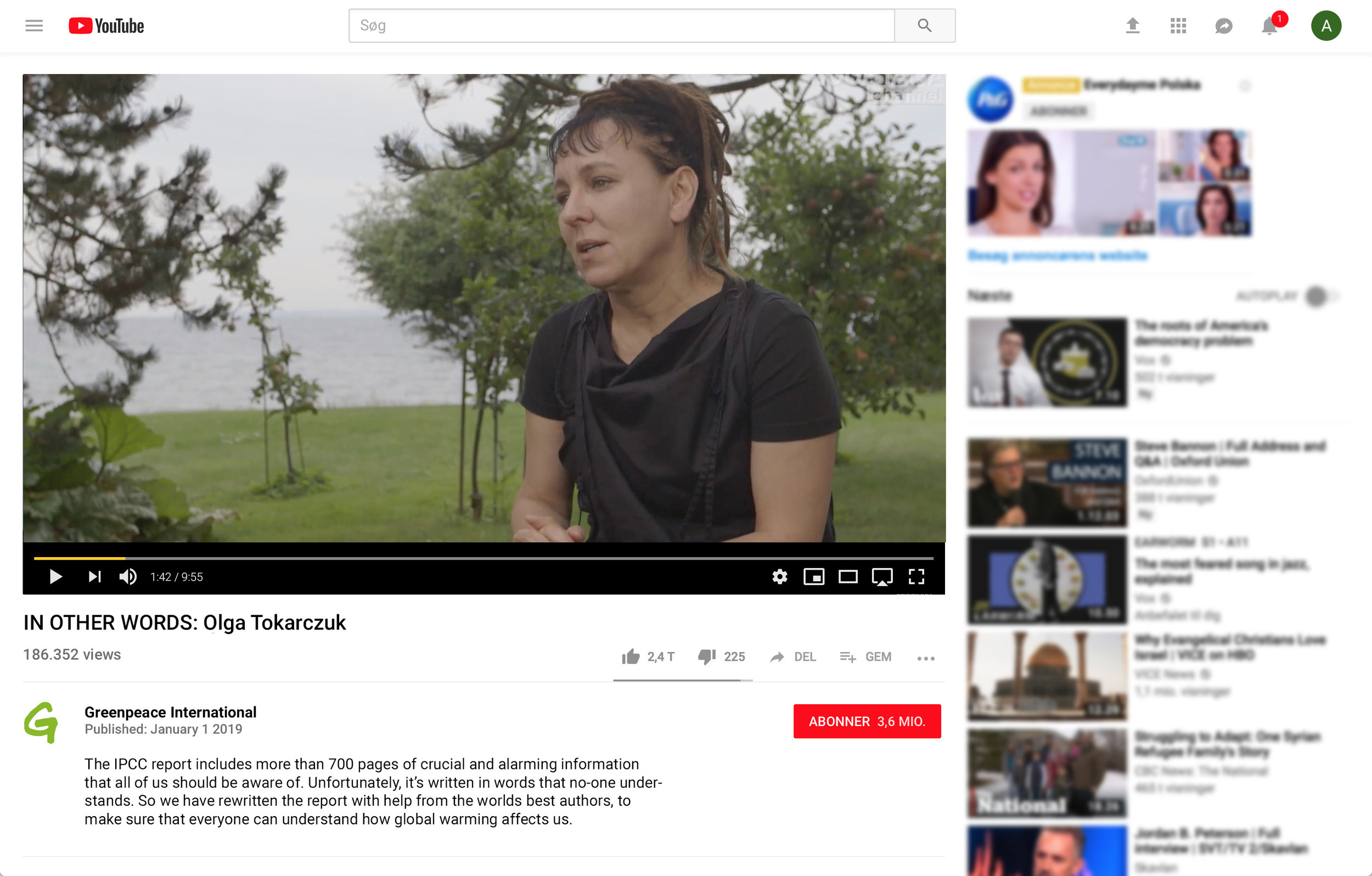 - We'll also create mini documentaries where the different authors visits places that has been damaged by global warming. In the videos they tell us how the visit has affected them, and their stories.