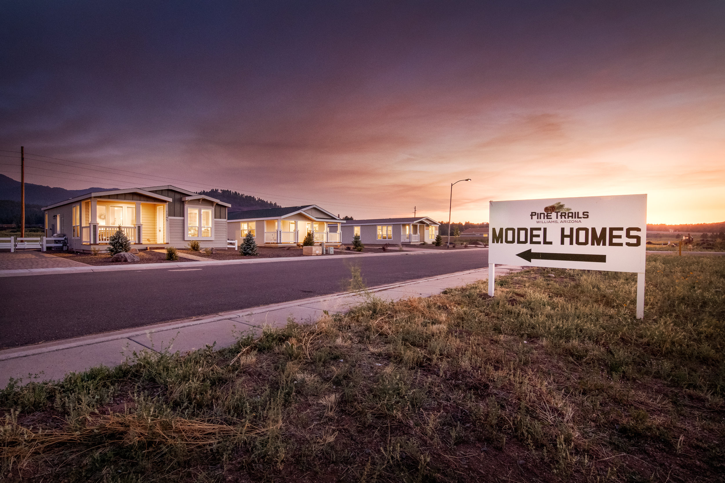 Come visit the Pine Trails Model Complex today! - (928) 774-3439