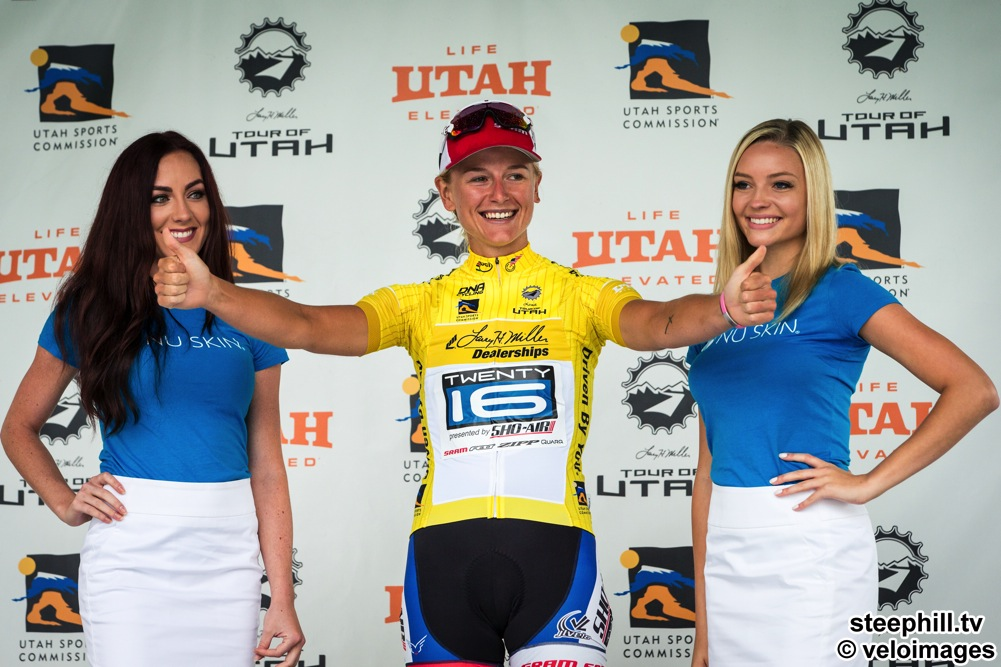 2016 Tour Of Utah Yellow Jersey