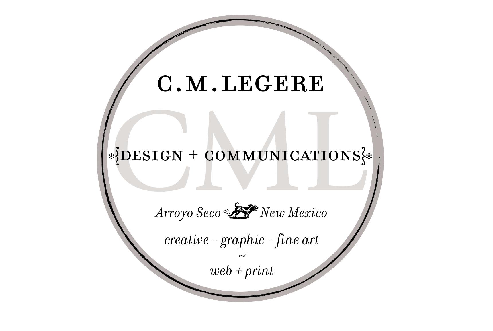 CMLegere Design Logo