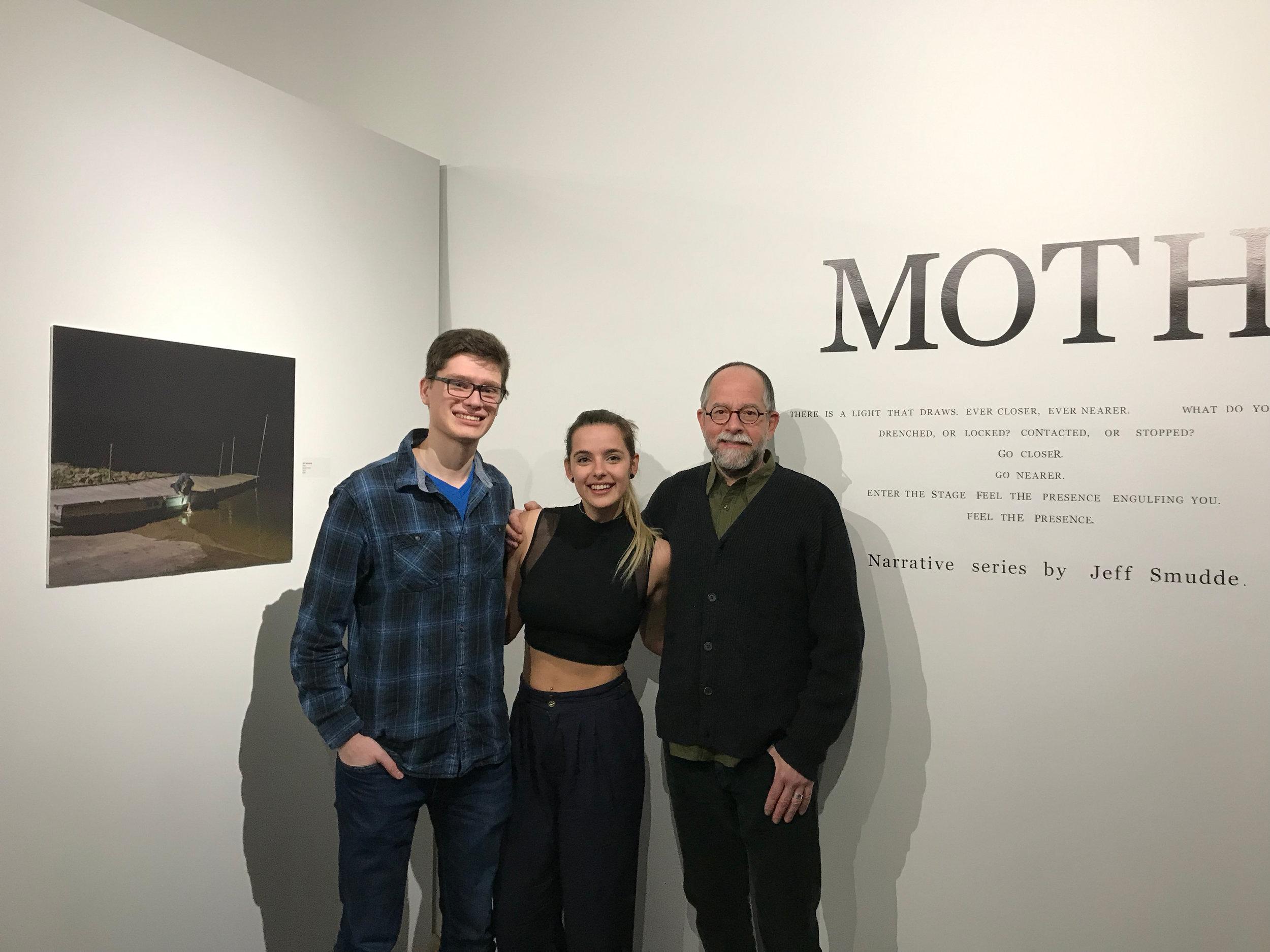 Myself, Izabela Batko, and Bill O'Donnell