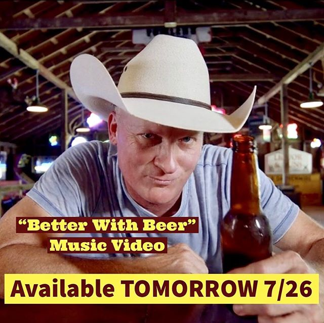 """Better with Beer"" music video out TOMORROW!! 👀🍻"