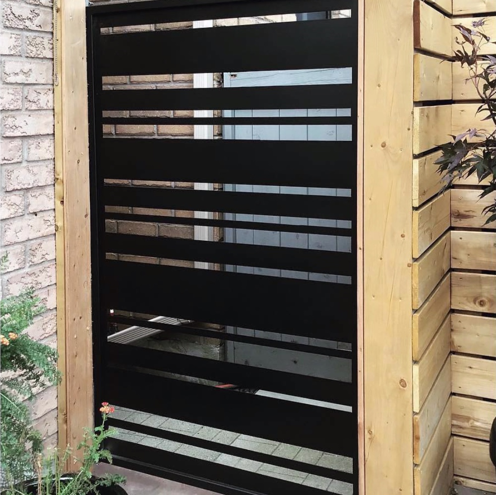 """our """"lineal"""" option as a gate insert"""